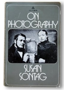 "Susan Sontag, ""On Photography,"" 1977, cover."