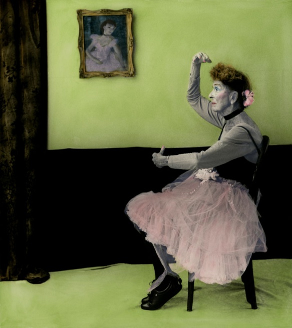 """With permission: From the project """"Arrangement in Green and Black, Portraits of the Photographer's Mother"""" by Aline Smithson"""