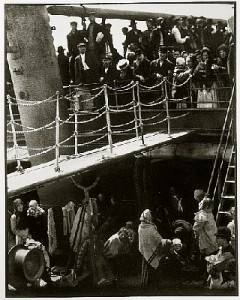 Alfred Stieglitz, Steerage 1907 w/permission: George Eastman House, International Museum of Photography and Film